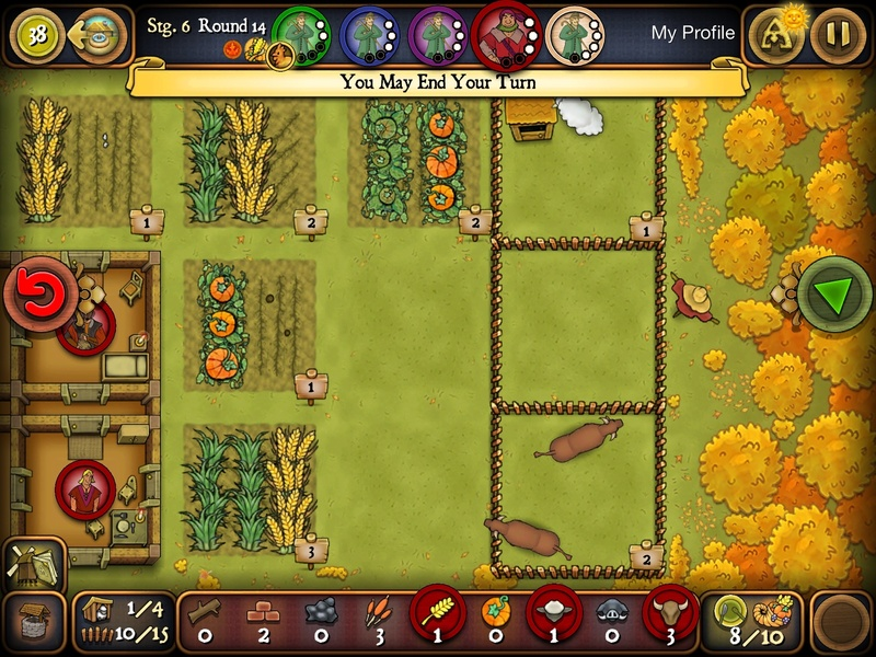 Agricola, house, board, games