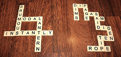 Bananagrams example
