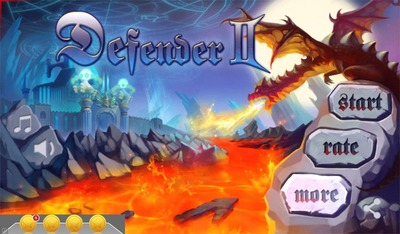 Defender II, Android, game, droidhen