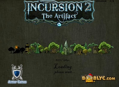 Incursion 2 the artifact, Incursion, booblyc