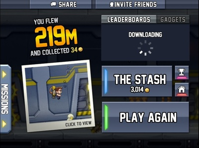 Jetpack Joyride Gameplay