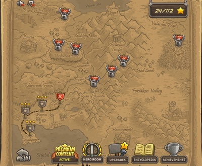 Kingdom Rush Upgrades