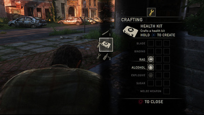 The Last Of Us Crafting