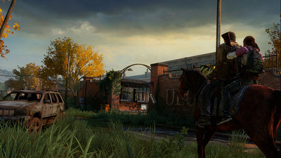 The Last Of Us Mounted Horse