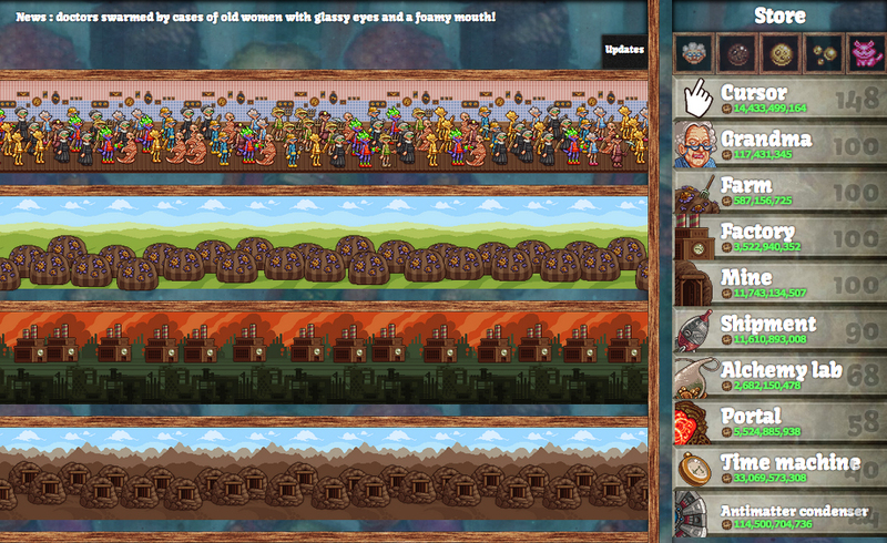 cookie clicker, gaming, computer games, java script games, addictive games, gaming memes, obsessive cookie disorder  - Cookie Clicker