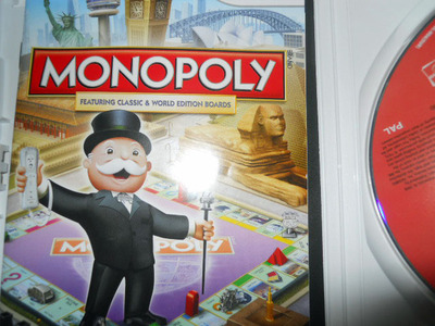 monopoly, wii, nintendo, video game